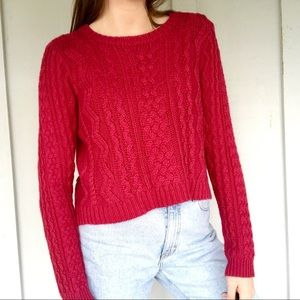 Forever21 chunky knit sweater